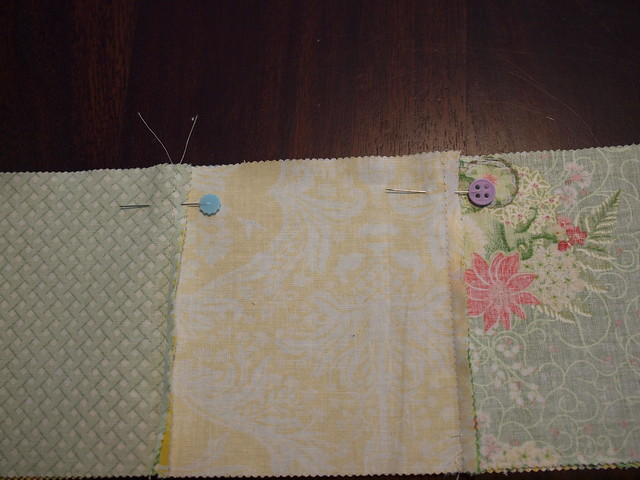 pinning 2 rows together