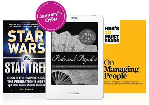 Kobo Free ebooks