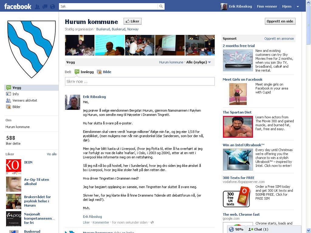 facebook hurum