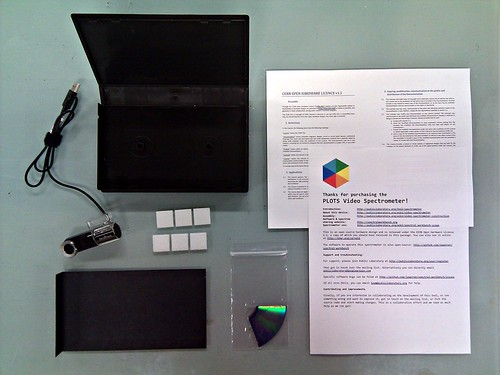 PLOTS Video Spectrometer kit