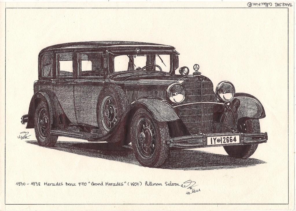 1931 mercedes benz 770 grand mercedes cabriolet for Mercedes benz 770