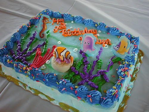 A Nemo cake