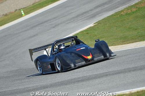Álvaro Fontes - Entrenamiento con Radical en el Circuito Ascari