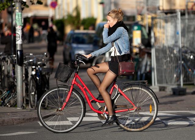 Of Pantyhose And Bike 82