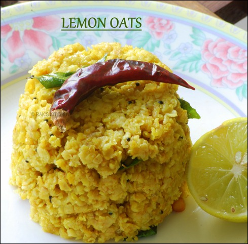 Lemon-oats-indian-oats-recipes