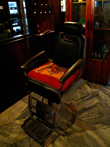 IMG_1622 barber's chair务边怀古楼 , Gopeng Museum