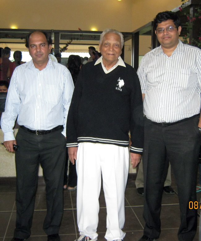 Mahesh Saluja, AVP, Sales & Marketing, Kolte-Patil I-Ven Townships (Pune) Pvt. Ltd., Anirudha Patil, Founder - Kolte-Patil Developers  & Sujay Kalele, Vice President, Business Development, Kolte-Patil Developers Limited