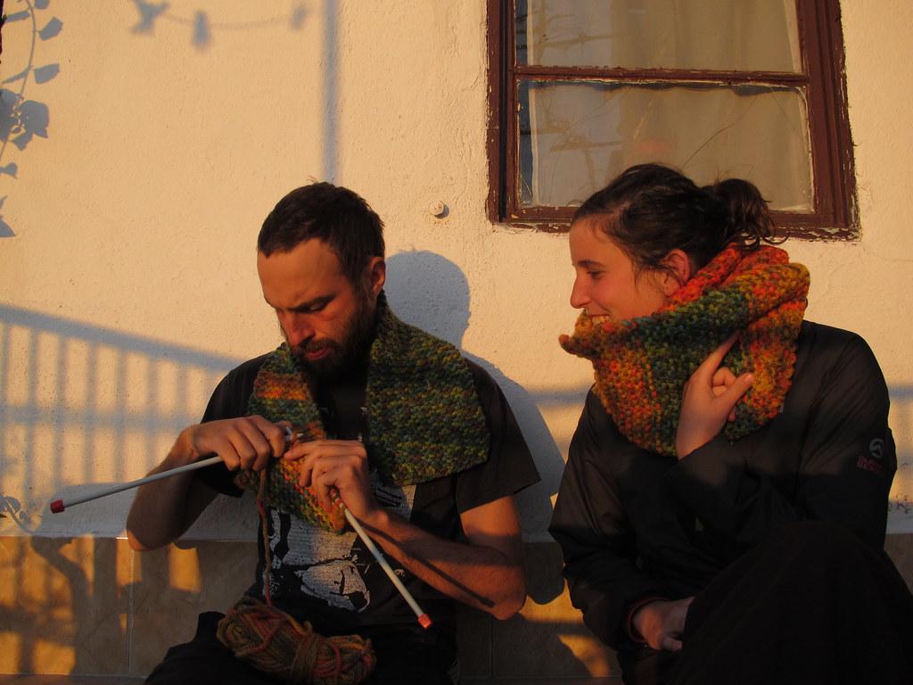 Tarda de bufandes a Pergam (Turquia)