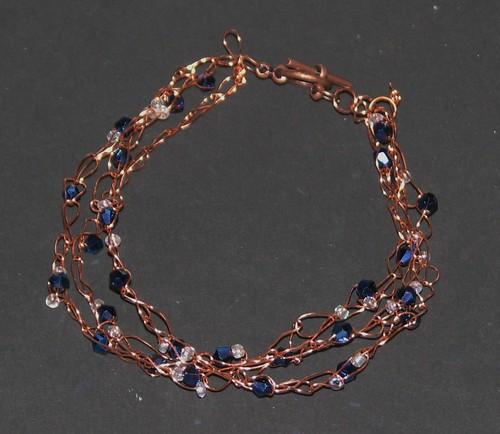 Crochet Wire Bracelet 017