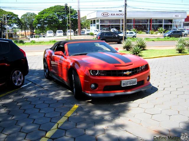 Chevrolet Camarro SS Cabriolet