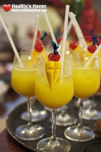 Boracay Mandarin Island Hotel Welcome Drink