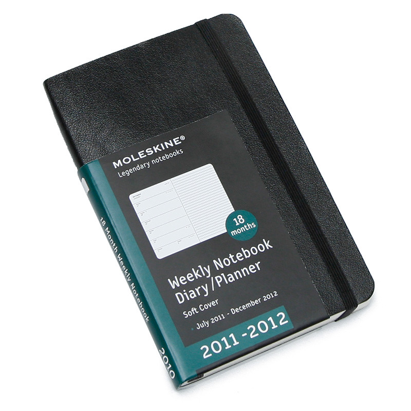 Moleskine Academic Planner for 2011-2012