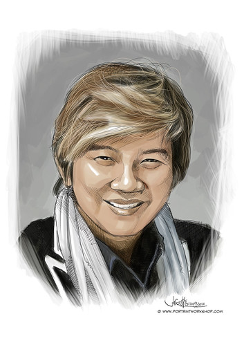 digital portrait of PBM-Chew Soo Gim Elim (revised)