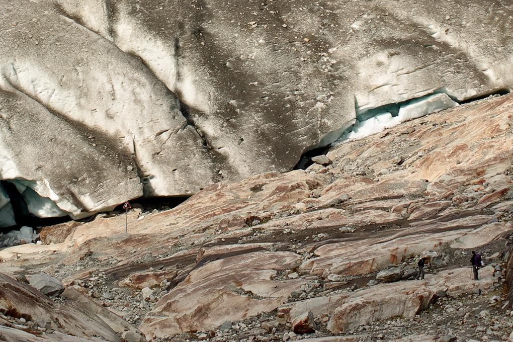 Suiza - Las montañas - Glaciar Alestch detalle 3