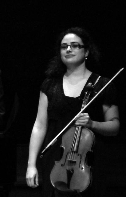IRIANA FERNÁNDEZ LLAMAZARES, VIOLA - CESAR ENSEMBLE - II FESTIVAL DE MÚSICA DE CÁMARA DE LA FUNDACIÓN MONTELEÓN - 12.12.11