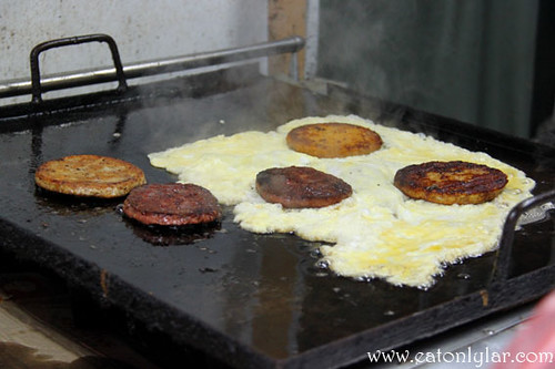 Cooking process, Burger Bobby Simpang 3