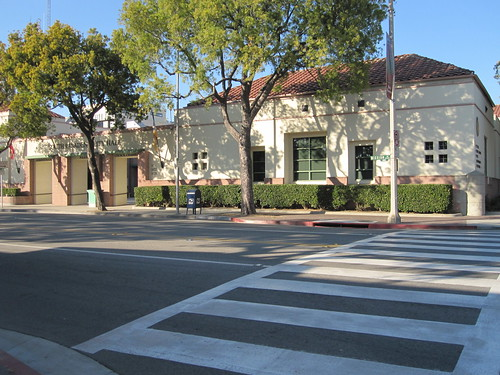 South Pasadena City Hall's crosswalk