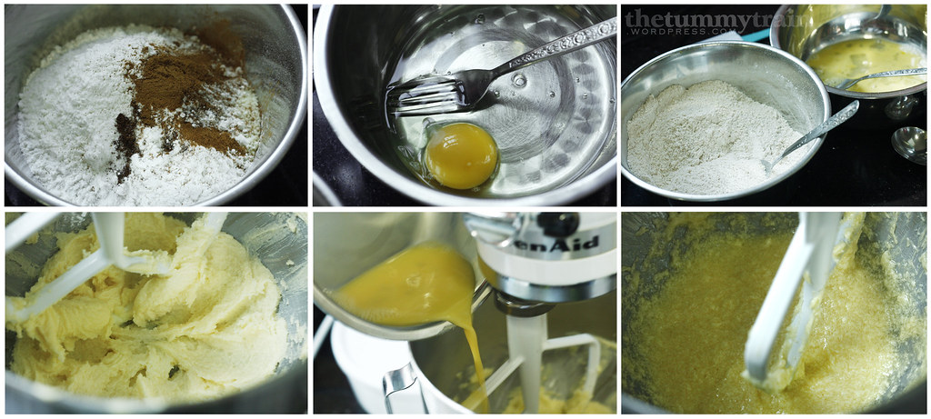 eggs, butter and sugar