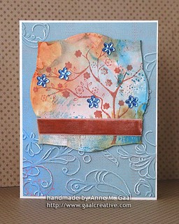 Slanted Tree Card