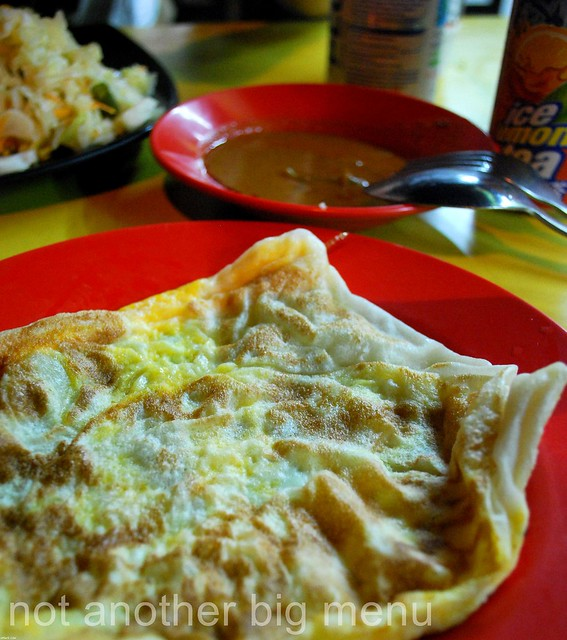 Al-Jilani Restaurant, Bencoolen, Singapore - Roti telur