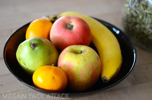 Raw Breakfast Fruit Bowl Vegan Yack Attack