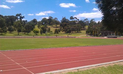 Aberfeldie Running Track in Essendon, VIC
