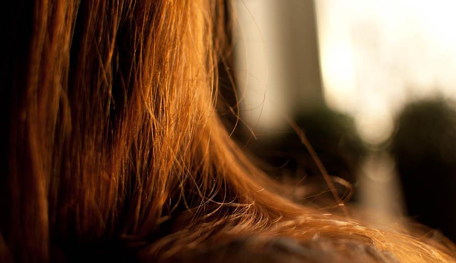 Eli's hair