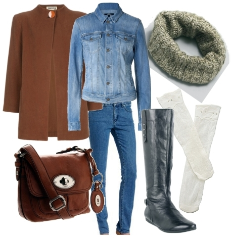 wear riding boots with denim