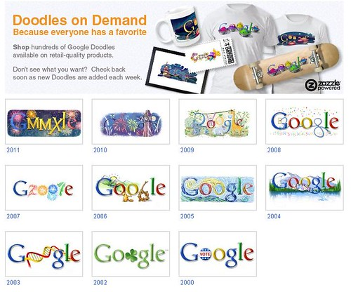 Google Doodles on Demand