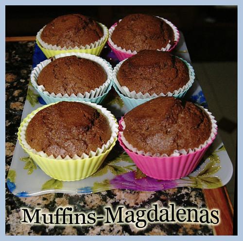 Muffins-Magdalenas