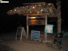 beach bar and grill in hopkins village belize