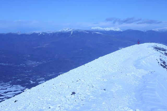 浅間山山頂