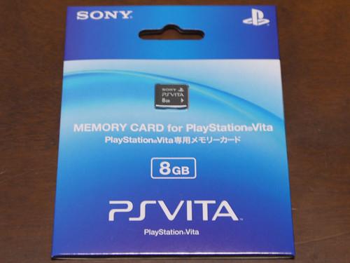 PS VITA メモリーカード 8G