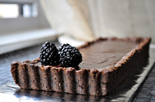 Hazelnut Chocolate Tart