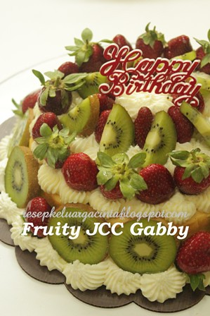 Fruity Japanese Cheese Cake Gabby