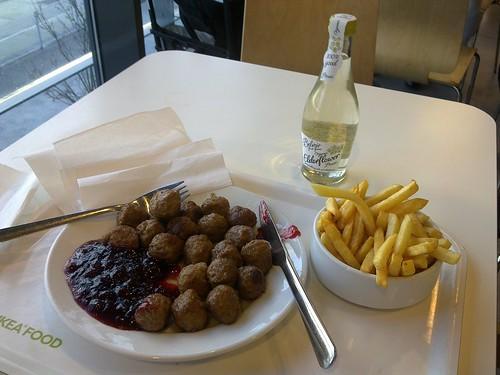 IKEA meatballs, mmm..