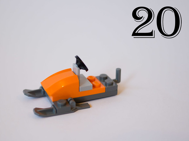 Day 20: The snow mobile