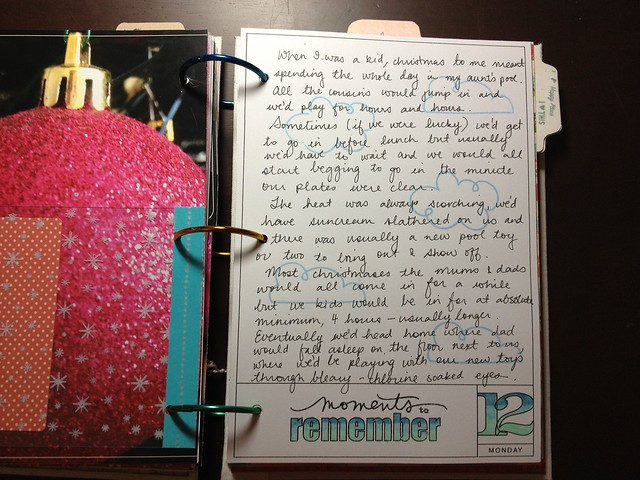 December 12 closeup_journalling