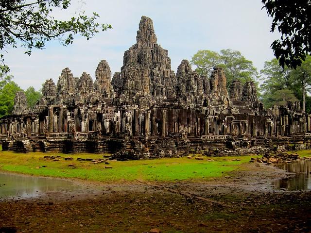 The Bayon at Angkor Thom