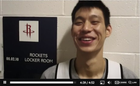 December 20th, 2011 - Jeremy Lin is interviewed by Rockets.com