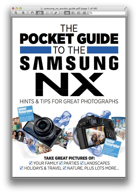The Pocket Guide to the Samsung NX (PDF)