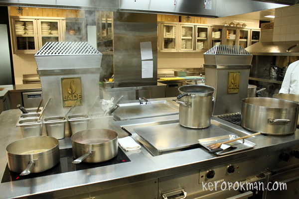 Santi Kitchen Tour @ Marina Bay Sands
