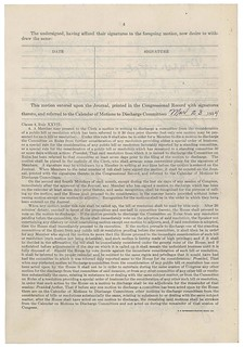 Discharge Petition #14 Filed by Oscar De Priest, 01/24/1934 - 03/05/1934 (page 4 of 4)