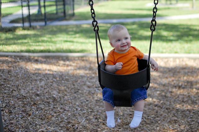 Swing, baby, swing.