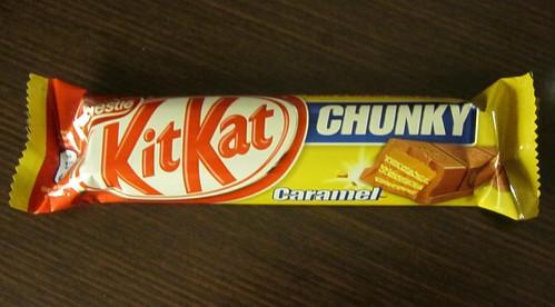 Kit Kat Chunky Caramel (USA)