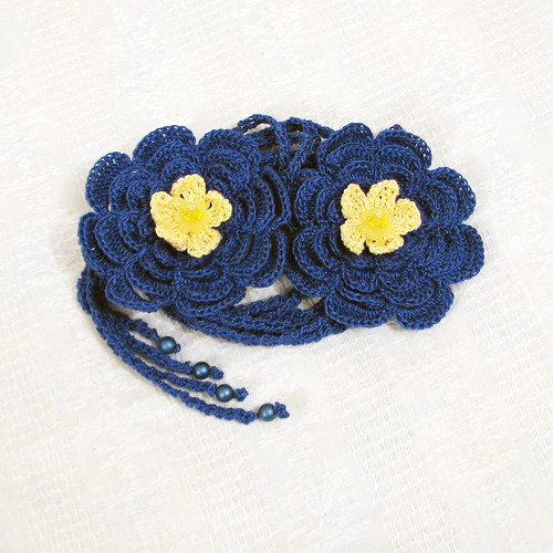 crocheted accessory for summertime
