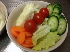 朝食サラダ(2011/12/24)