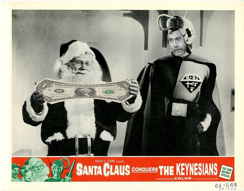 SANTA CLAUS CONQUERS THE KEYNESIANS by Colonel Flick