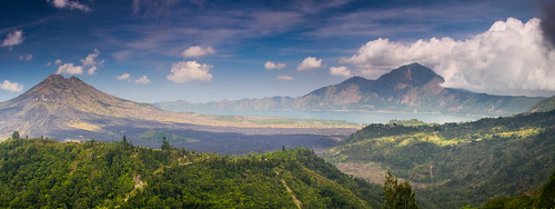 Great wide view of kintamani