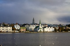 Iceland - Reykjavik 115 - Frikirkjan Church